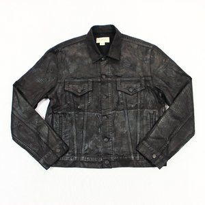 Denim & Supply Ralph Lauren Waxed Raw Denim Jacket
